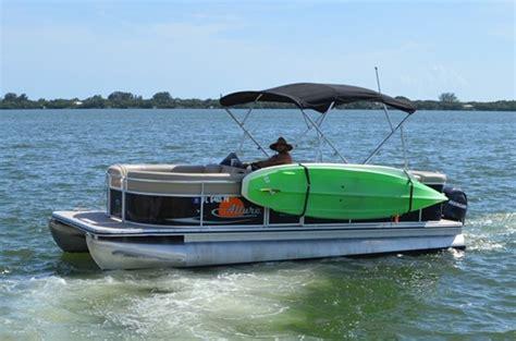 sup rack for pontoon boats 2 boards toonracker