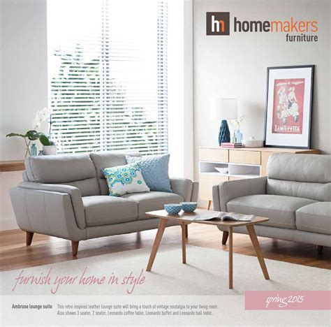 Homemakers Furniture by Homemakers Catalogue 2015 By Homemakers Furniture Issuu