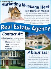 free real estate flyers best word templates