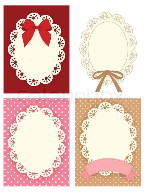 cute lace pattern cute lace pattern vector file eps10 stock vector