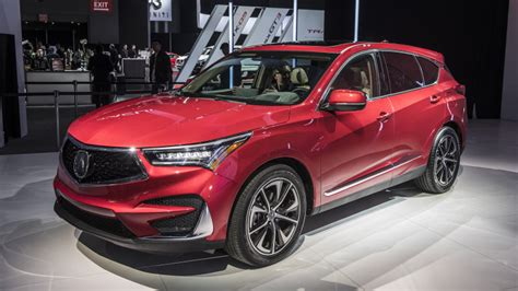 2020 Acura Rdx Aspec by 2019 Acura Rdx Debuts In N Y With A Spec Version And