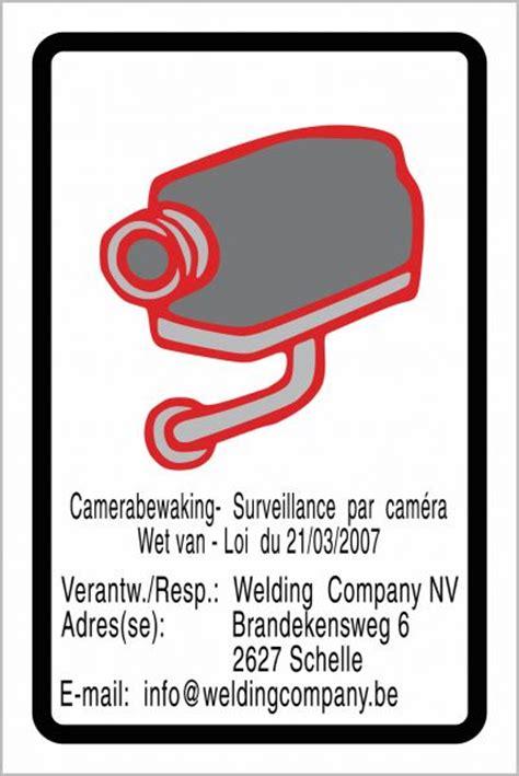 Sticker Camerabewaking Bestellen by Sticker Camerabewaking Alkobel