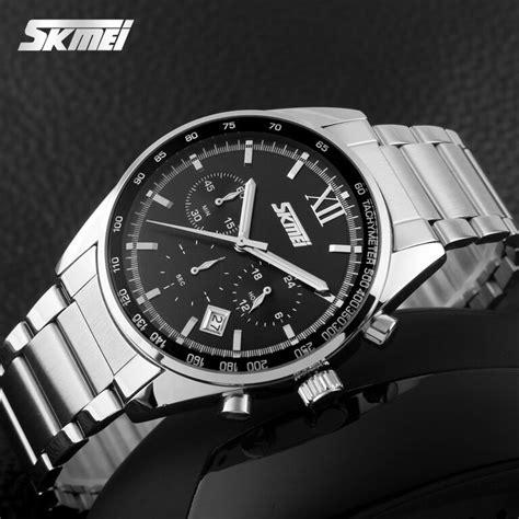 Skmei Jam Tangan Pria Analog 9096cs Black skmei jam tangan analog pria 9096cs black