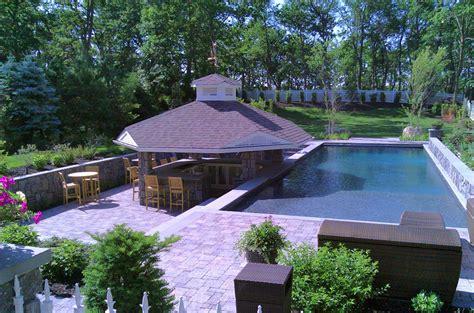 Long Island Kitchens Long Island Inground Swimming Pools And Gunite Pools