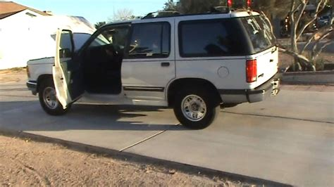 93 Ford Explorer by 93 Ford Explorer Xlt Engine Test Parting Out All Parts