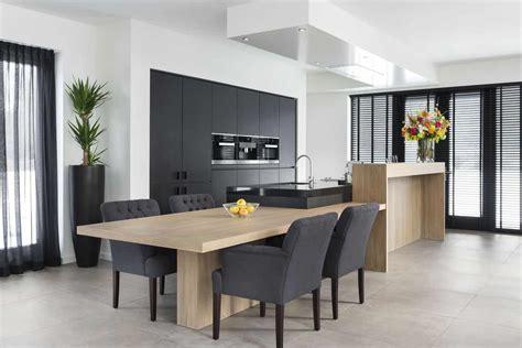 a en a keukens moderne keuken met design bar