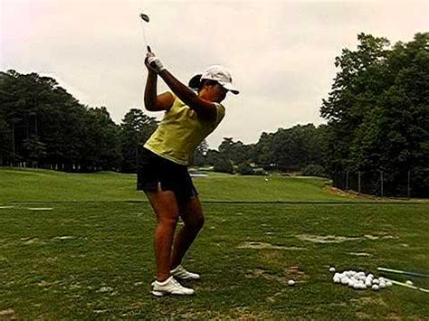 inbee park swing inbee park dtl golf swing 210 fps slow motion youtube