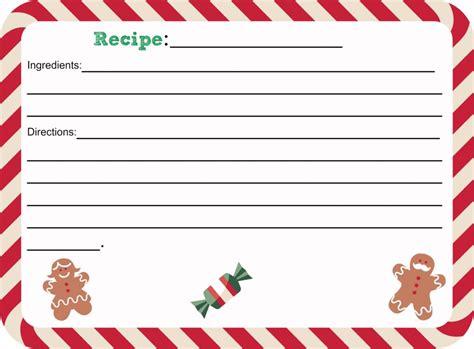 printable christmas recipe card shesaved