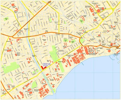 map of streets limassol map maps of cyprus