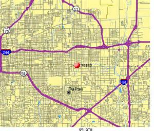 Tulsa Zip Codes Map by Tulsa Zip Code Map Submited Images