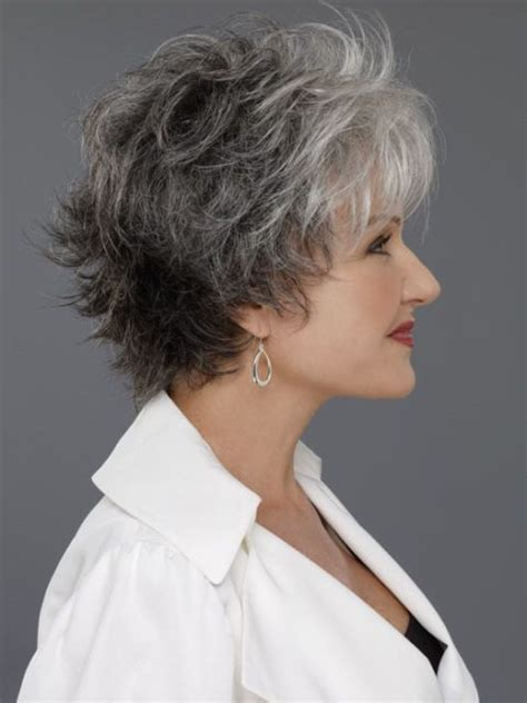 short haircuts fir over60 with a wave easy chic medium wavy hairstyles for women over 50 hair
