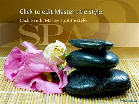 free massage ppt templates ppt template