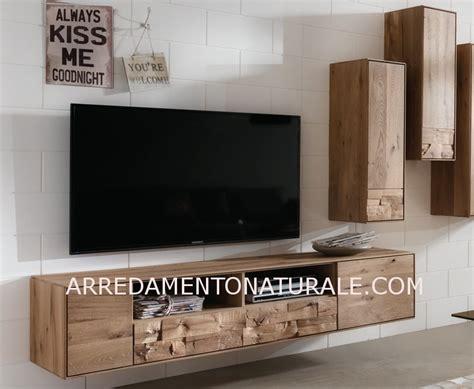 mobili per soggiorno in legno mobili e pareti soggiorno su misura in legno naturale