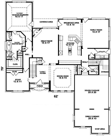robin hill european home plan 087d 1015 house plans and more