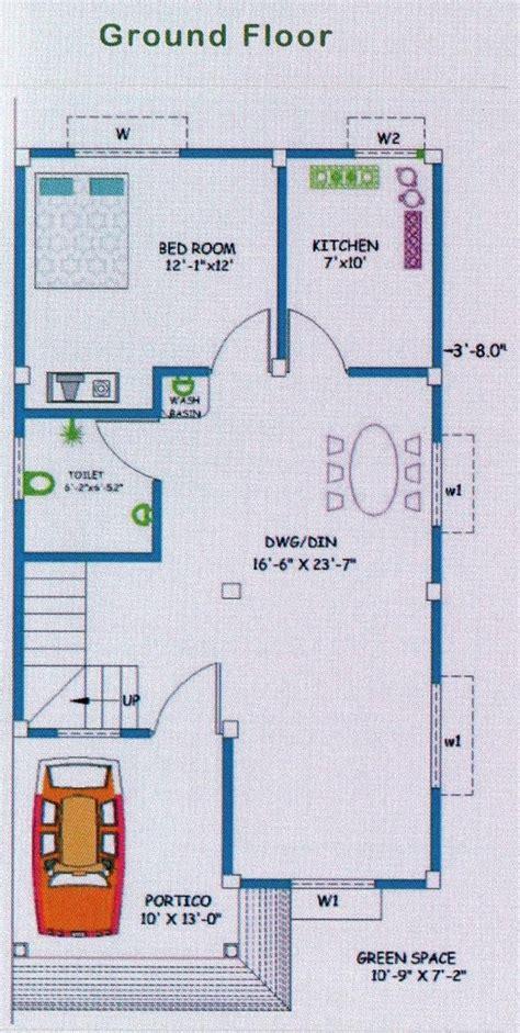 ground floor plan for 1000 sq 1500 sq ft 4 bhk 2t villa for sale in technoculture building vastu vihar bhojerhat kolkata