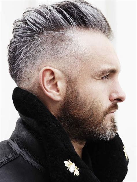 Undercut Hairstyles For Men With Gray Hair | undercut hairstyle 45 stylish looks hommes malaysia s