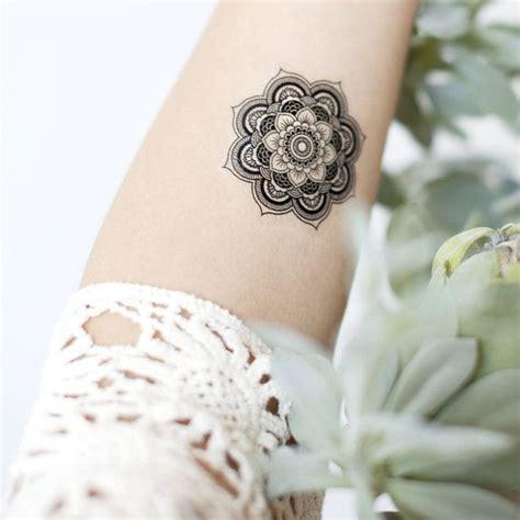 pattern wrist tattoos boho mandala pattern temporary wrist