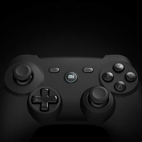 Xiaomi Bluetooth Gamepad For Smartphone Tablet Smart Tv Pc Black xiaomi bluetooth controller gamepad for tv box smart tv