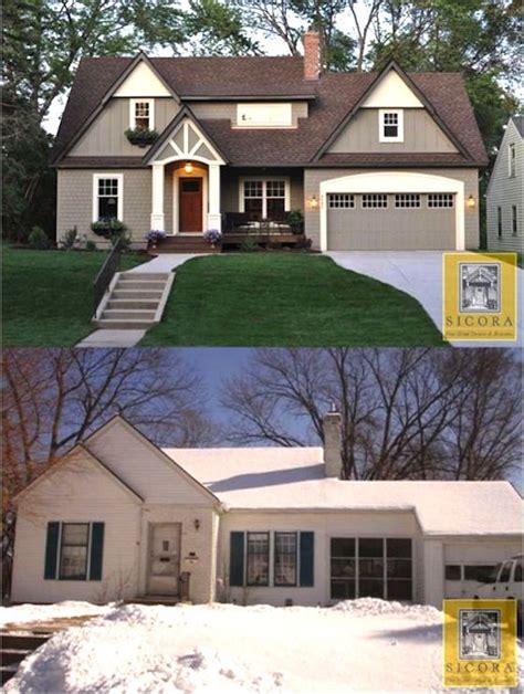 our cottage exterior before after best 25 home exterior makeover ideas only on