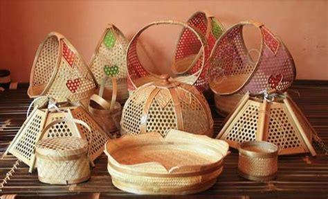 Lu Hias Meja membuat kerajinan bambu peluang usaha kerajinan bambu