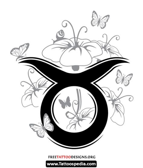 girly taurus tattoo designs taurus designs for 09