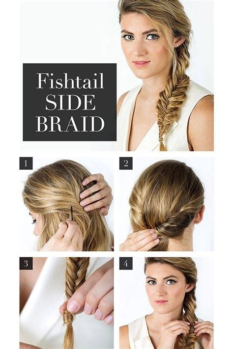 french hairstyle by own step by step easy way french fishtail side braid pictures photos and images