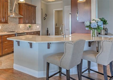 custom kitchen island 2018 top 5 new home construction custom kitchen features for 2018 passage island homes