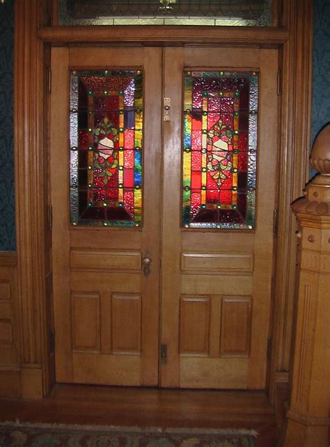 Leaded Glass Front Door Stained Glass Door Outline Pictures