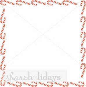 Square candy canes border christmas borders