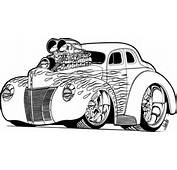 Hot Rod Coloring Pages Truck – Kids