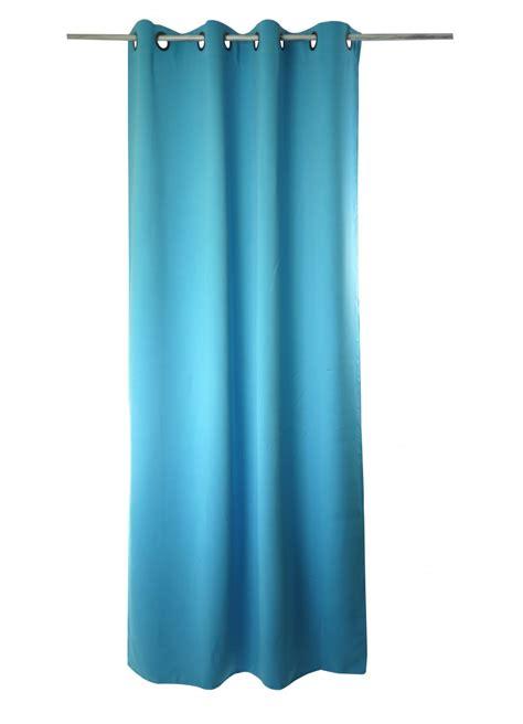 Rideau Bleu Clair by Paire De Rideaux 90 Occultant Lola Bleu Clair Vert