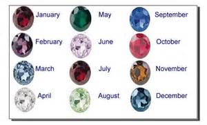 Traditional birthstone colors by month images amp pictures becuo