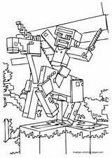 excellent minecraft coloring pages