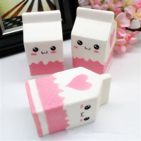 Squishy Murah Pink Biru Jumbo Rising squishy jumbo pink milk bottle box 11cm rising soft collection gift decor alex nld