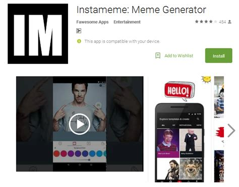 Meme Creating App - top meme generator tools and apps to create funny memes