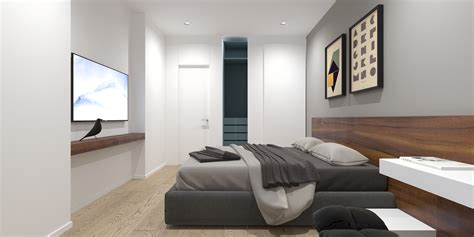 modern minimalist bedroom 2 modern minimalist home design exposed brick and wooden wall decor roohome designs plans