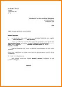 Lettre De Recommandation De L Employeur 8 Lettre De Recommandation Employeur Curriculum Vitae Etudiant