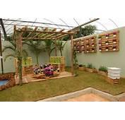 Construindo Minha Casa Clean Decora&231&227o Com Paletes E Caixotes