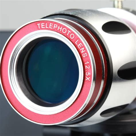 Lesung Telephoto Lens Kit 8x Zoom Magnifier For Iphone 2010 lesung telephoto lens kit 12 5x zoom for iphone 5 5s se a tl 002 jakartanotebook
