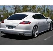 Rob Dyrdek's Car – White Porsche Panamera Turbo  Mania