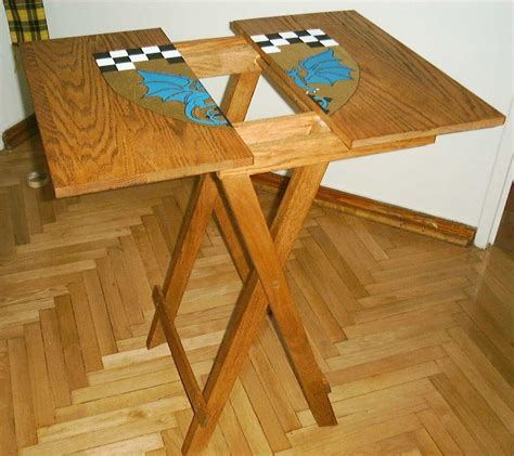 build diy small wood folding table plans plans wooden