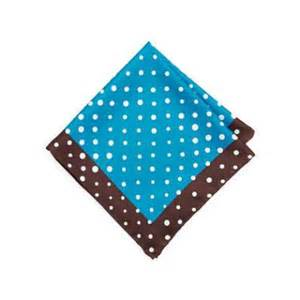 Handmade Pocket Square - neiman handmade dotted pocket square chocolateroyal