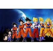 Dragonball Z Goku Evolution HD Wallpaper Of Anime  Hdwallpaper2013