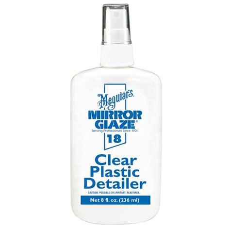 boat plastic cleaner meguiars 18 mirror glaze clear plastic cleaner polish
