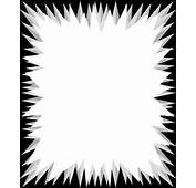 Floral Black Border Frame Background For Powerpoint Slides Free