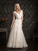 Short Sleeve Lace Wedding Dresses