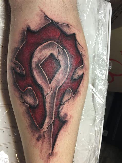 horde tattoo horde symbol by jacques pietersen on deviantart