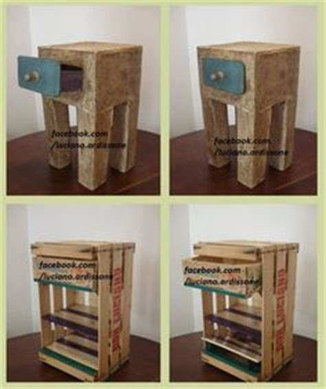 buro hecho de ideas creativa para hacer on crates ideas