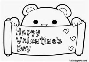 Happy valentines day coloring pages 1 happy valentines day coloring