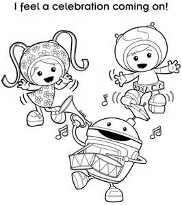 Olivia Nick Jr Coloring Pages